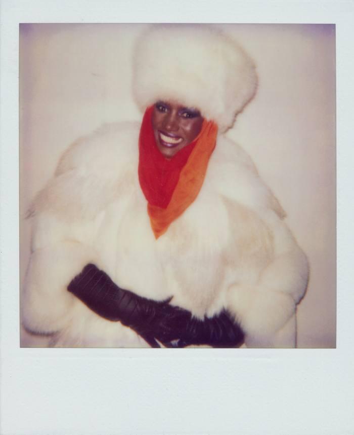 Grace Jones (1984) by Andy Warhol
