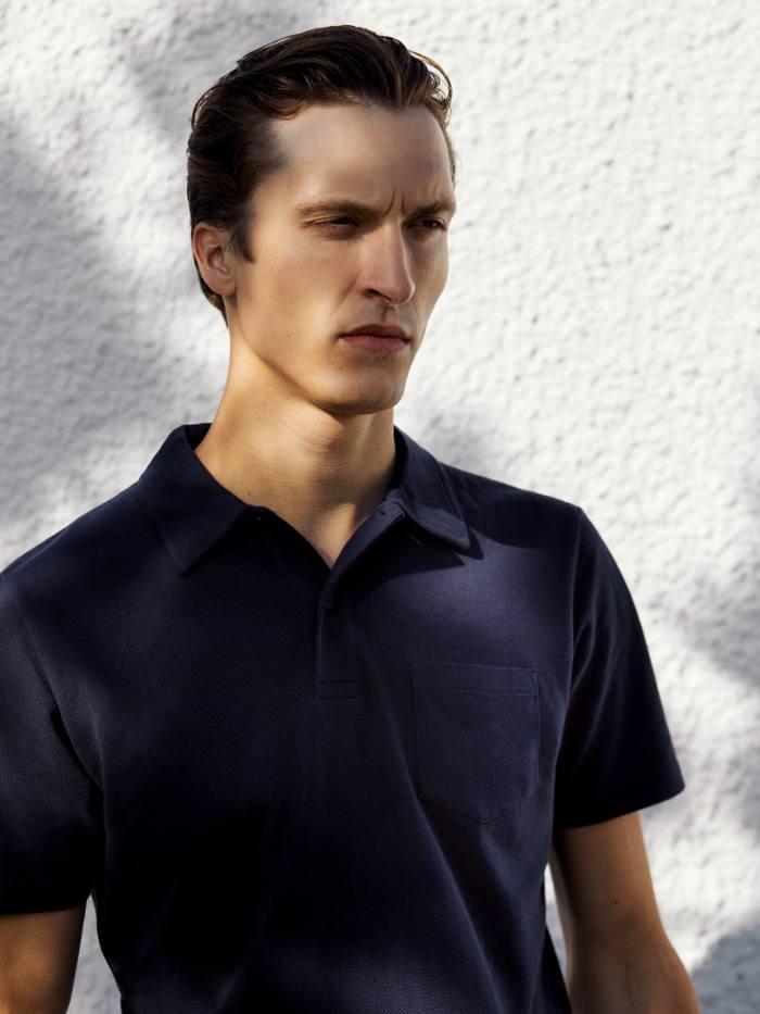 Sunspel cottonRiviera polo shirt, £90