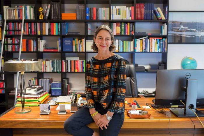 Francesca Masiero, president of PBA, in her office on September 23
