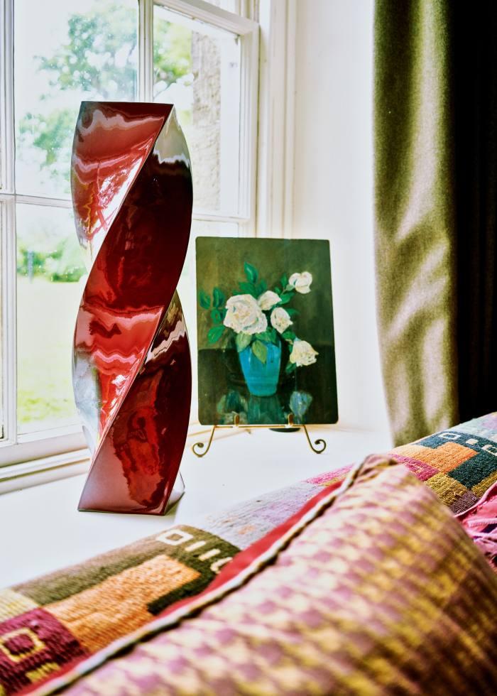 Ceramics by her partner Alexander Macdonald-Buchanan