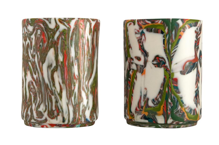 Ceramic tumblers by Maritsa Travlos for Zeus+Dione