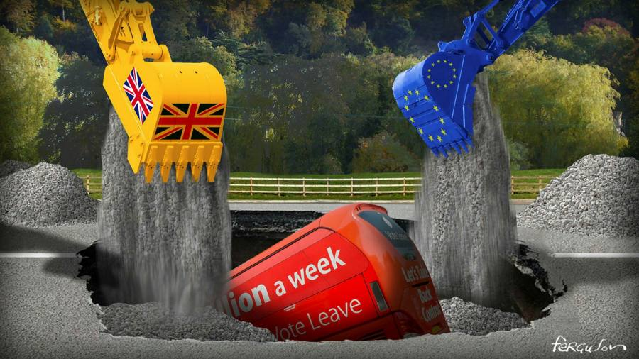 Brexit has become an exercise in quiet damage limitation
