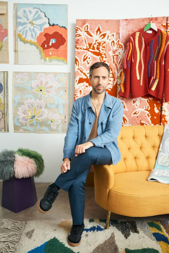 Pilotto feels energised and inspired by having lots of colour in his life