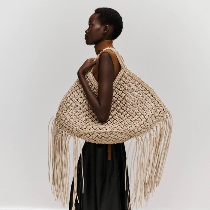 Yuzefi vegan-leather bag, £300