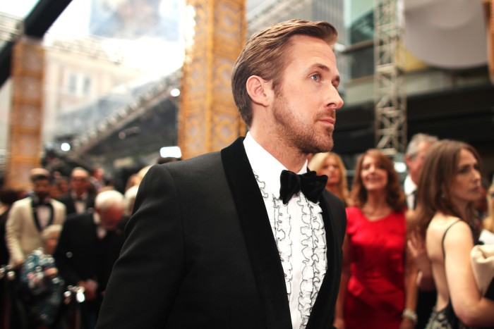 Ryan Gosling at the Oscars in 2017
