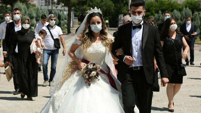 Turkey Unveils Unusual Tactic To Control Virus Wedding Inspectors Financial Times