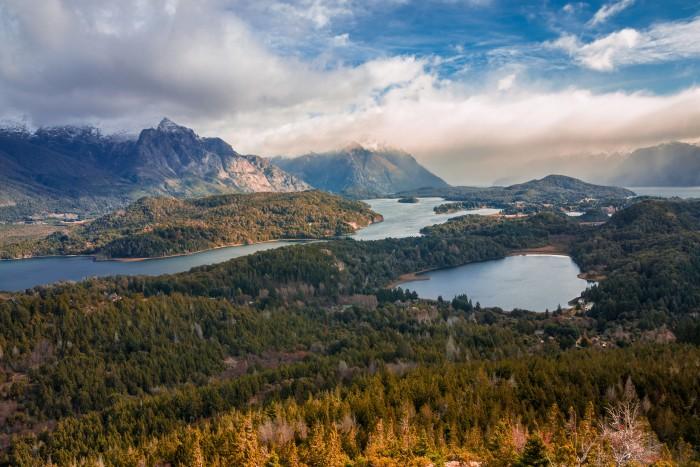 A view from Cerro Campanario, Bariloche