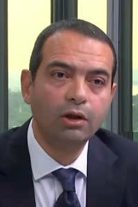 Ayman Soliman, chief executive of The Sovereign Fund of Egypt, which is overseeing the privatisation of two of the military's National Service Projects Organisation's companies