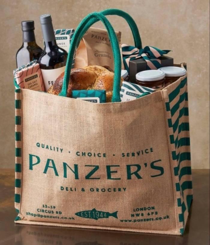 A picnicker's delight at Panzer's Deli, north London