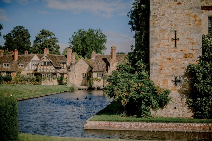 Hever Castle: 'With towers, battlements, a moat and drawbridge, the castle itself lives up to all the fairytale expectations'