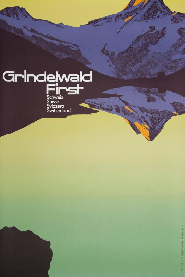 c1970 Marc Rudin poster, £950, from Twentieth Century Posters