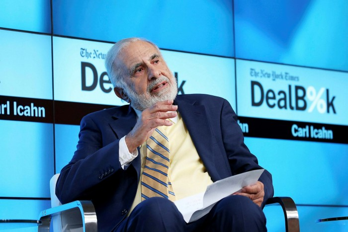 Carl Icahn, the billionaire investor who had been Hertz's de facto boss, sold his 38 per cent stake on the eve of bankruptcy, registering a near $2bn loss