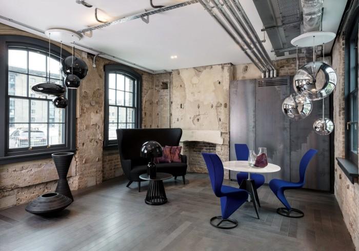 The Gallery room in Tom Dixon's Coal Drops Yard headquarters