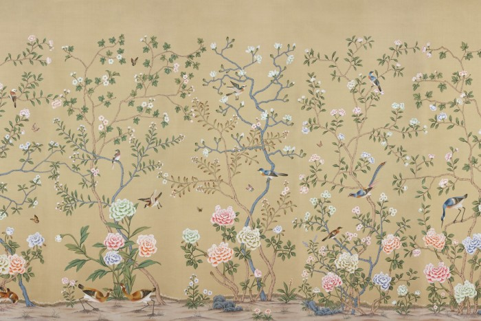 De Gournay Earlham Chinoiserie, from £758 per 91.5cm-wide panel