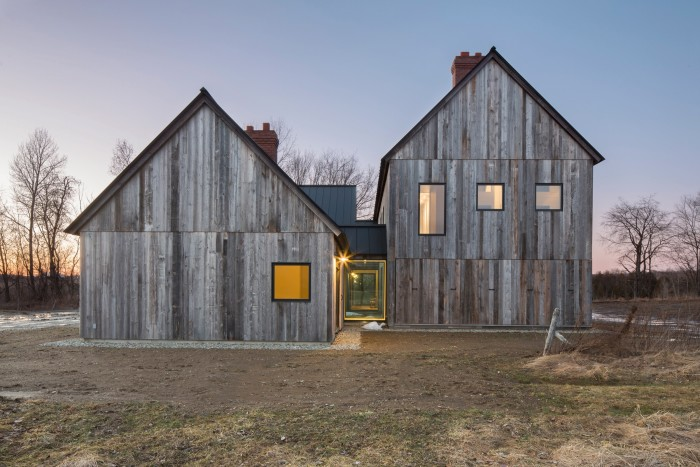 The Townships Farmhouse in Quebec, by Lamas