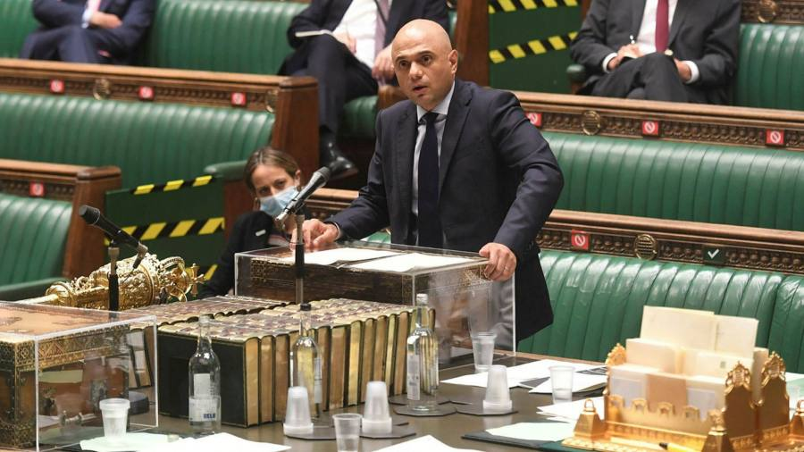 UK Covid cases may soar to 100,000 a day, Sajid Javid warns