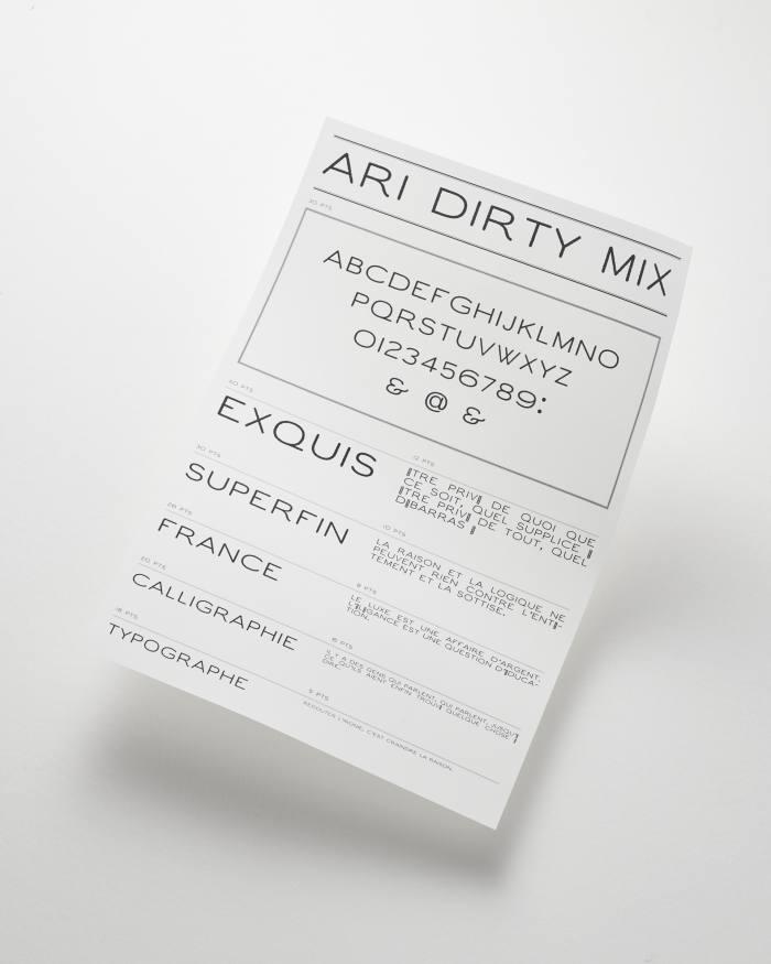 .  .  .  Und ARI Dirty Mix