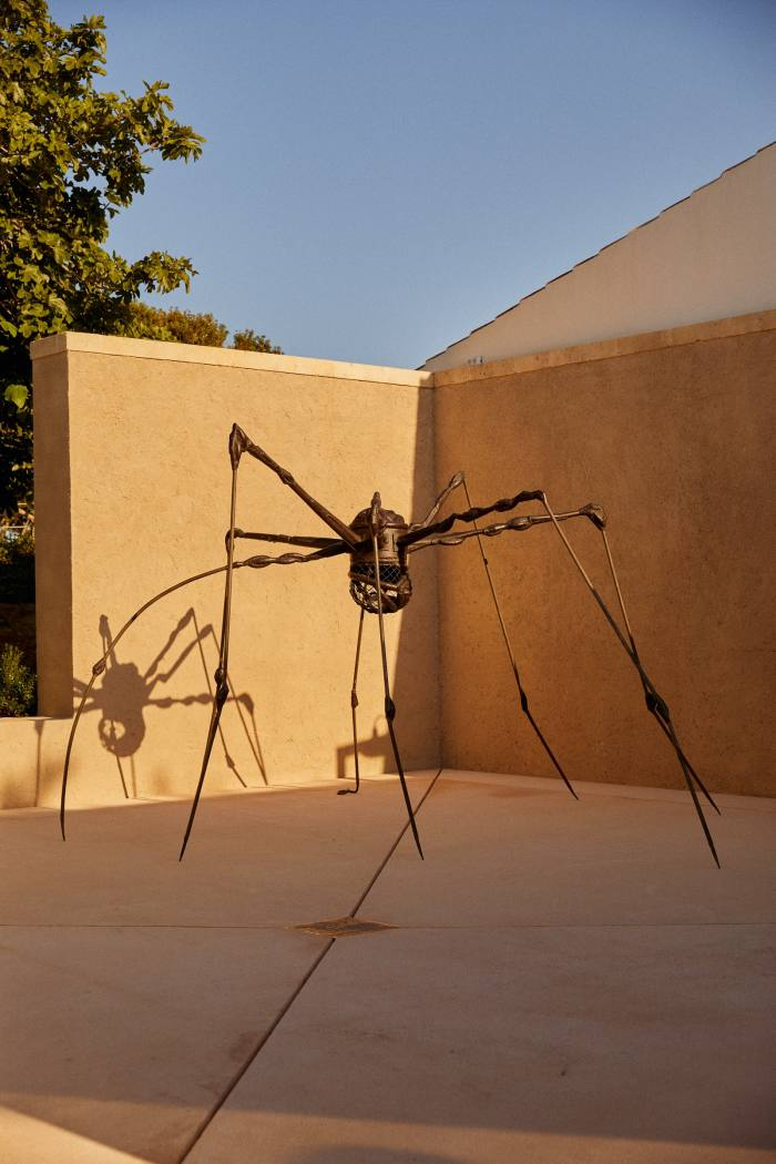 Spider, 1994, by Louise Bourgeois, in the central patio