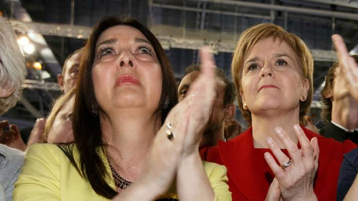 Snp Mp Disciplined After Travelling To Westminster And Back With Covid Financial Times