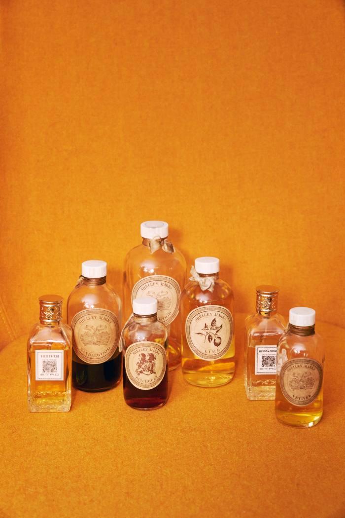 Vintage fragrances – his beauty staple