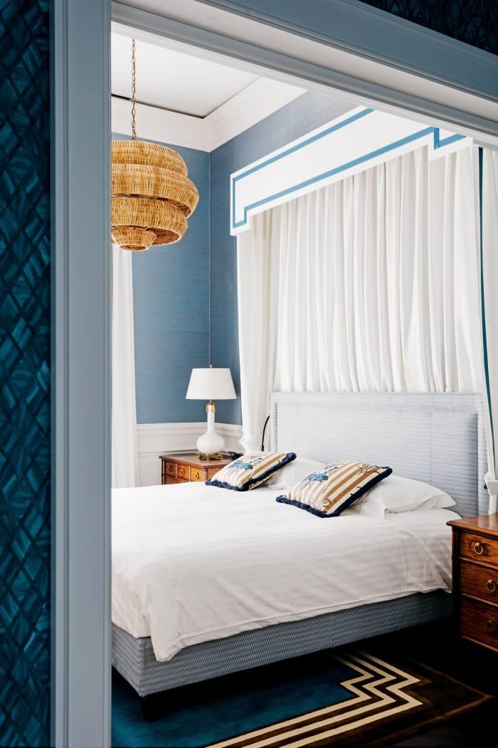 One of the suites at Villa Igiea