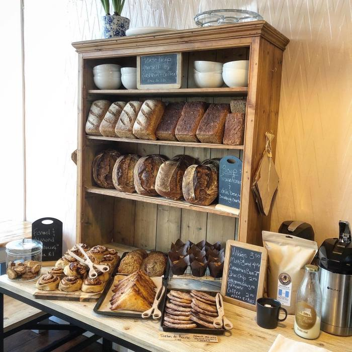 Loaves, biscuits and cinnamon buns served up in Chagford