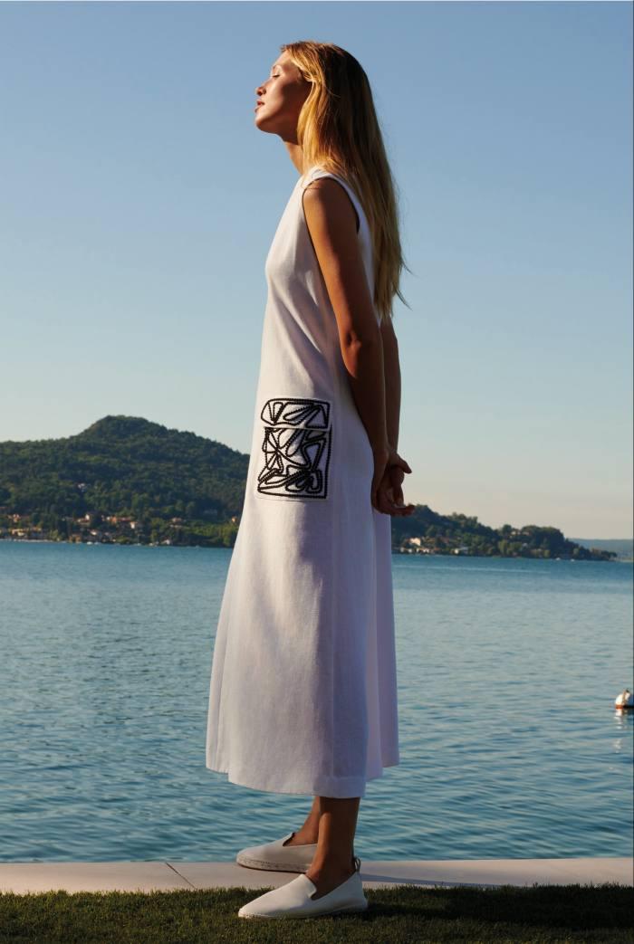 Loro Piana linen Cynthia dress, £2,420