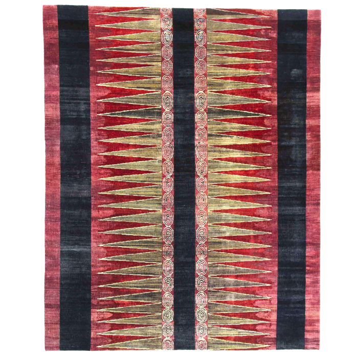 Luke Irwin organically coloured wool Botanical rug, from £940 per sq m