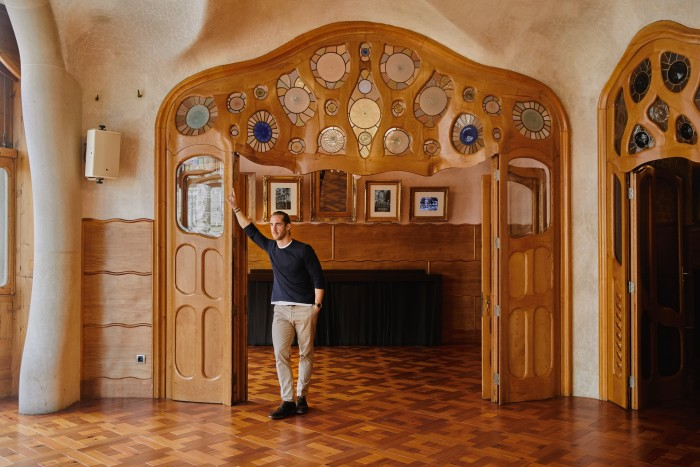 Gary Gautier, whose family have owned Casa Batlló since the 1990s
