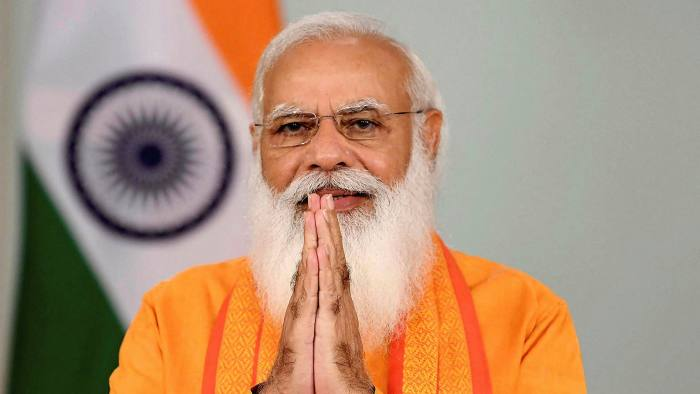 Narendra Modi the style king puts on the guru look   Financial Times