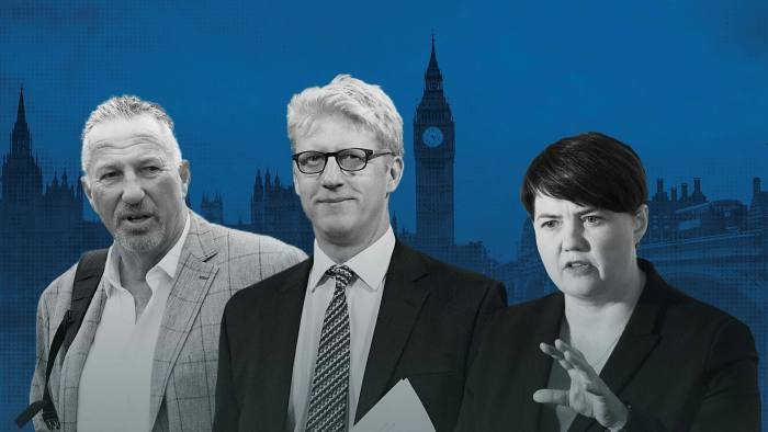 Boris Johnson Loyalists Rewarded With Peerages Financial Times