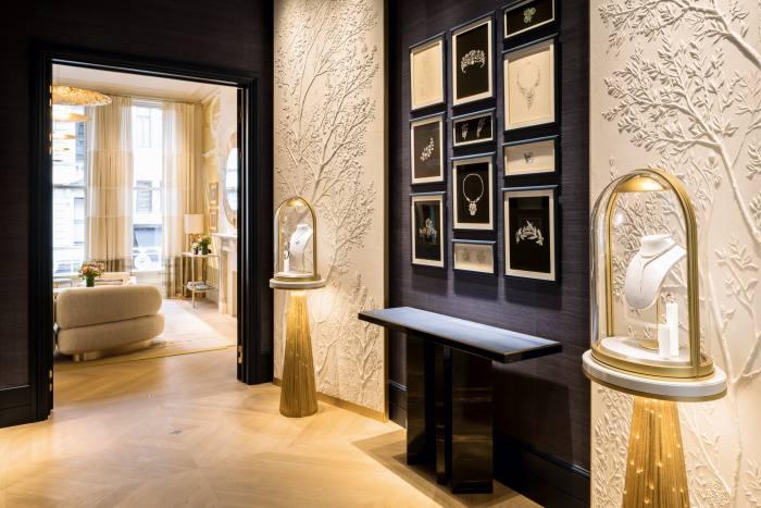 Chaumet's newly refurbished flagship store inLondon