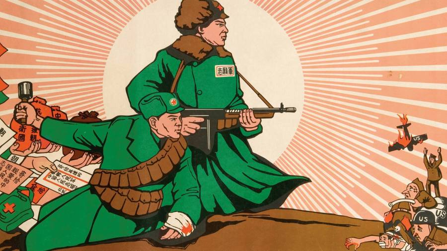 Beijing deploys role in Korean war in fight against the US