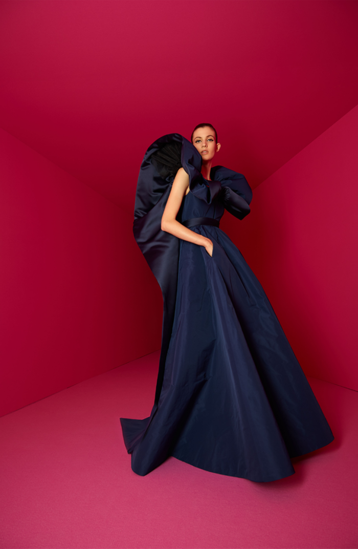 """Alexis Mabille's couture collection was about """"attitude"""""""