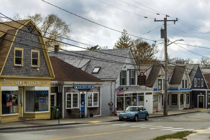 Shops in Cape Cod. Treasury secretary Steven Mnuchin has proposed a new stimulus package with more support for small businesses