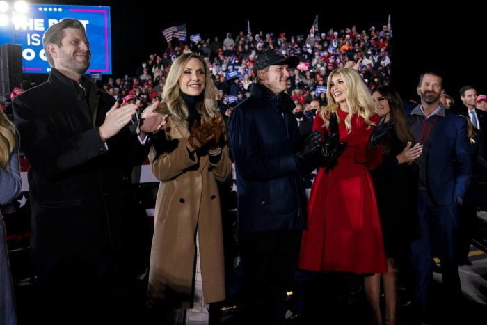 Donald Trump's children and their partners have played an oversized role in the administration