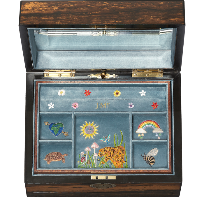 Jessica McCormack Mother Earth Heirloomjewellery box, £20,000 (including£8,000 worth of jewellery)