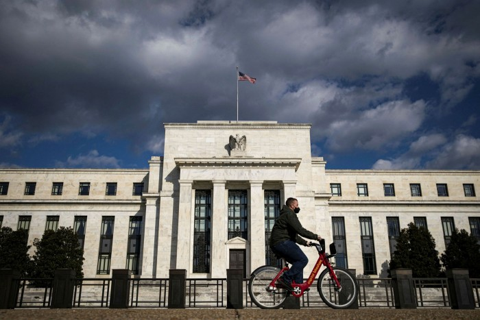 The Federal Reserve in Washington. Attempting to lean against the era of super-easy central bank monetary policy has been painful for many hedge funds