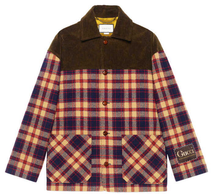 Gucci jacket, £2,050