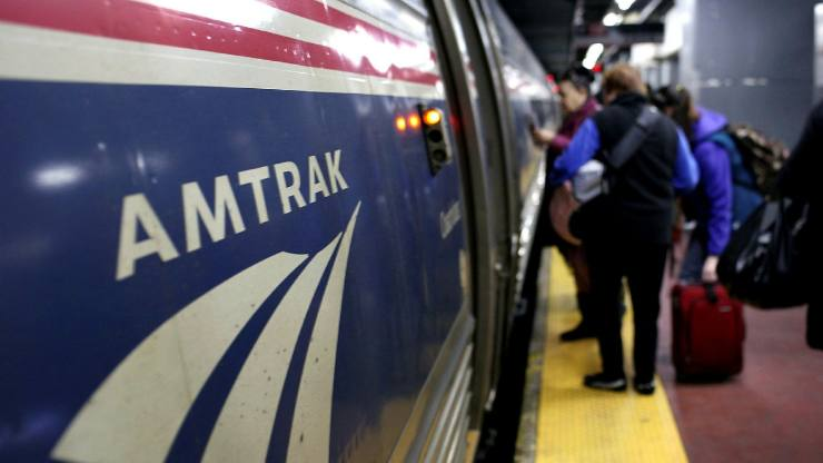 What's the implied contract of an Amtrak ticket?