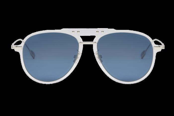 Rimowa Bridge Pilot Crystal Navy Polarized sunglasses, €310