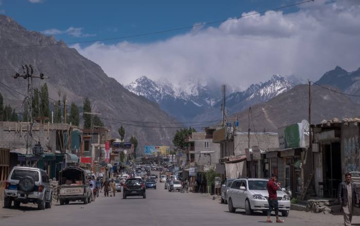 Aliabad, the Hunza Valley's main town
