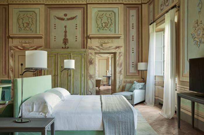A heritage suite at Castello del Nero