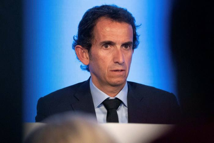 Carrefour chief executive Alexandre Bompard