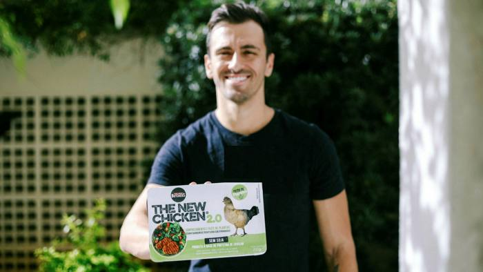 Sustainable diet: environmental concerns led Bruno Fonseca to develop plant-based foods that taste like meat