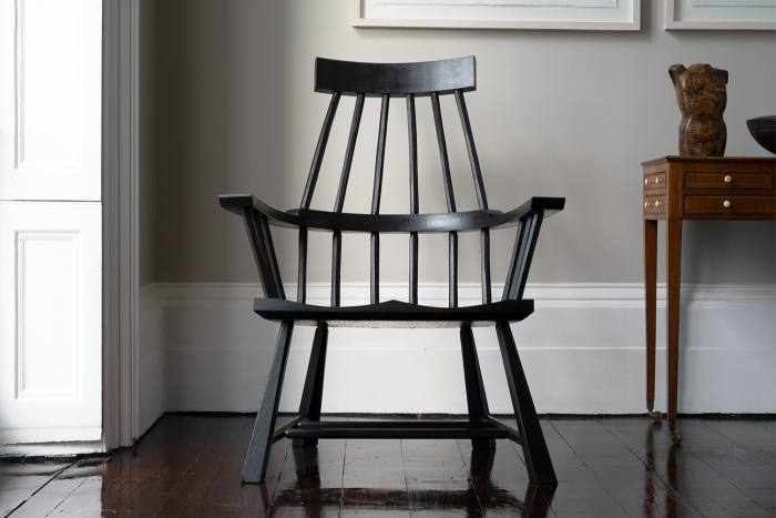 Ash spindle-back chair by…