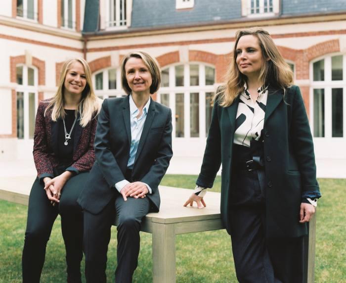 AliceTétienne, Séverine Frerson and Vitalie Taittinger
