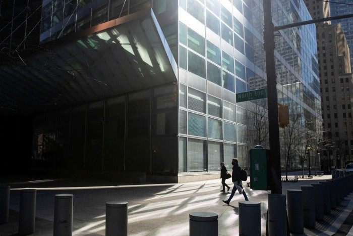 Goldman Sachs' headquarters in New York. The group's new venture with ICBC, in which it will have a majority stake, aims to add more savings products