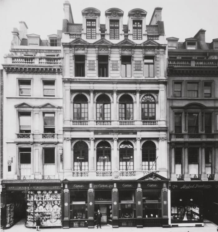 Cartier's London store