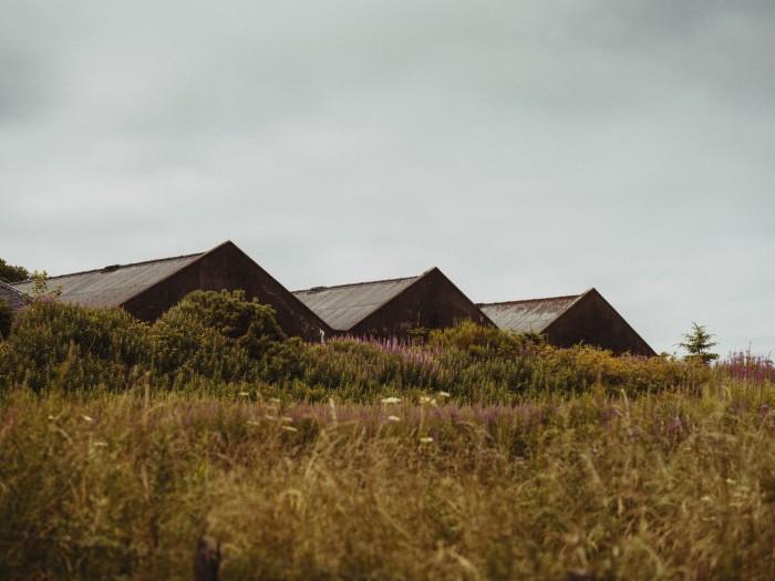 Glenmorangie warehouses beside the Dornoch Firth
